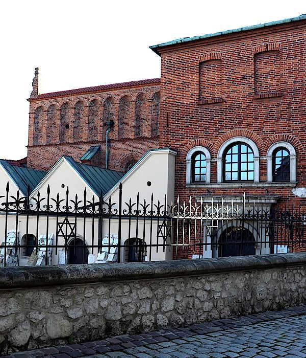 Krakau Alte-Synagoge im Stadtviertel Kazimierz