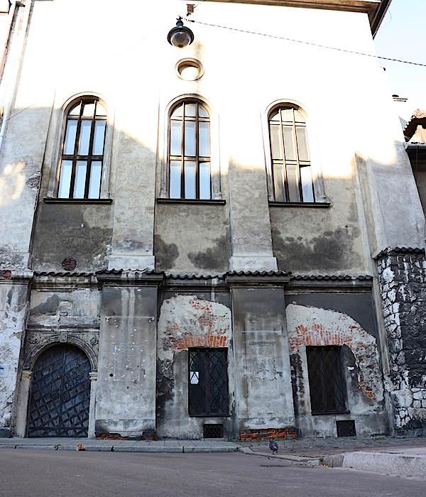 Krakau Hohe-Synagoge im Stadtviertel Kazimierz