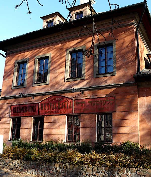 Krakau jüdisches Restaurant Klezmer-Hois
