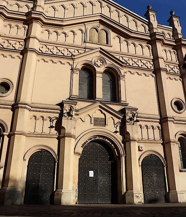 Krakau Tempel-Synagoge in Kazimierz
