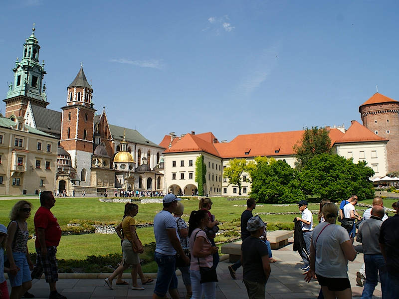 Krakau Königsschloss Wawel