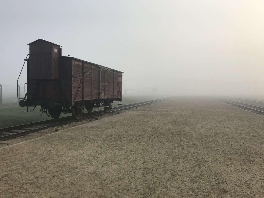 Auschwitz-Birkenau Rampe