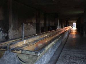 Auschwitz-Birkenau Sanitärbaracke