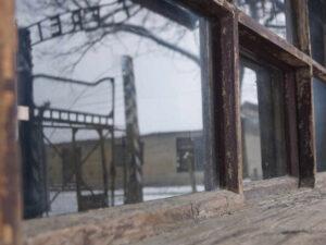 Auschwitz-Birkenau Eingangsbaracke