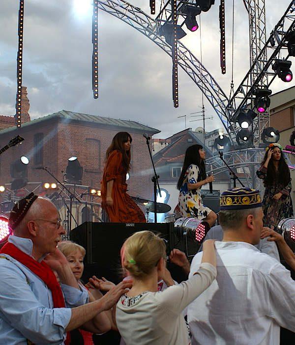 Krakau Stadtviertel Kazimierz jüdisches Festival