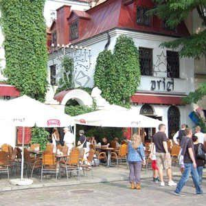 Krakau Stadtviertel Kazimierz Restaurant Ariel