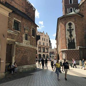 Krakau Seiteneingang Marienkirche
