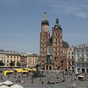 Krakau Marienkirche und Tuchhalle