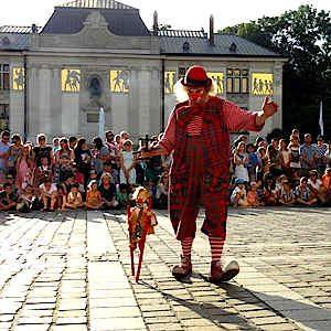 Krakau Festival der Straßenkünstler